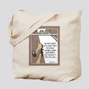 NEAR SIDE - Calling Birds Tote Bag