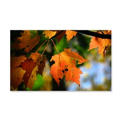 .october afternoon. Wall Decal