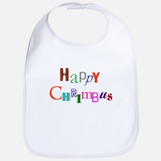 Happy Chrimbus Bib