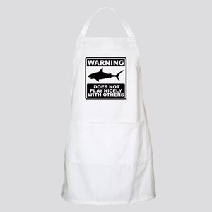 Shark Does Not Play Nicely Apron