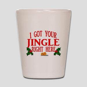 Jingle Bells Shot Glass