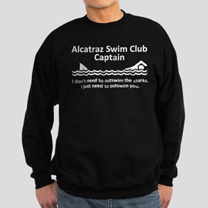 Alcatraz Swim Club Captain Sweatshirt (dark)