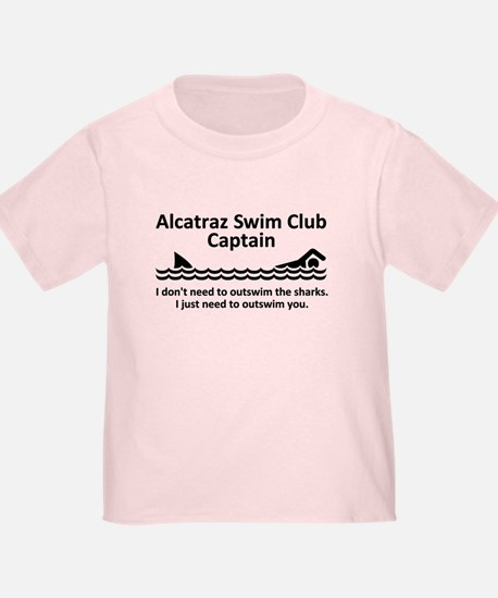Alcatraz Swim Club Captain T