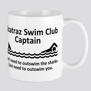Alcatraz Swim Club Captain Mug