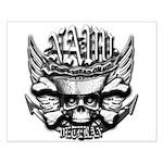 USN Veteran Skull Dont Tread Small Poster