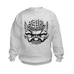 USN Veteran Skull Dont Tread Kids Sweatshirt