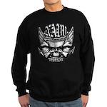 USN Veteran Skull Dont Tread Sweatshirt (dark)