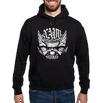 USN Veteran Skull Dont Tread Hoodie (dark)