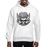 USN Veteran Skull Dont Tread Hooded Sweatshirt