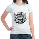 USN Veteran Skull Dont Tread Jr. Ringer T-Shirt