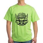 USN Veteran Skull Dont Tread Green T-Shirt