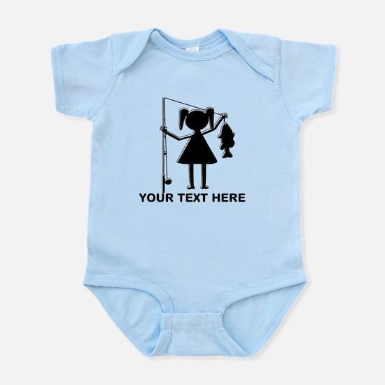 CUSTOMIZABLE REEL GIRL Infant Bodysuit