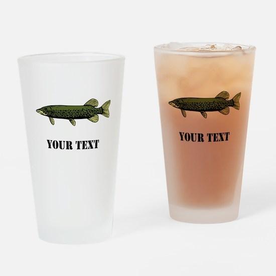 CUSTOMIZABLE MUSKIE Drinking Glass