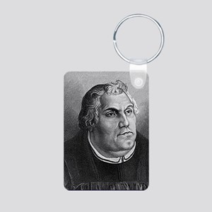 Dr. Martin Luther Aluminum Photo Keychain