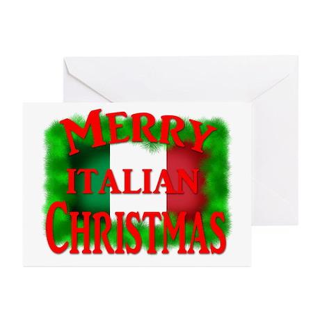 Italian Christmas Greeting Cards (Pk of 20)
