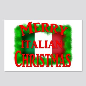 Italian Christmas Postcards (Package of 8)