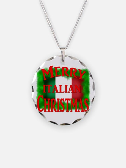 Italian Christmas Necklace