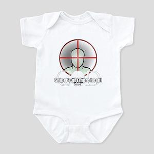 Snipers get more head Infant Bodysuit