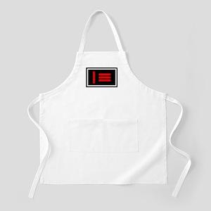 Master/slave (Dom/sub) Flag BBQ Apron