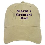 World's Greatest Dad Cap (Khaki or White)