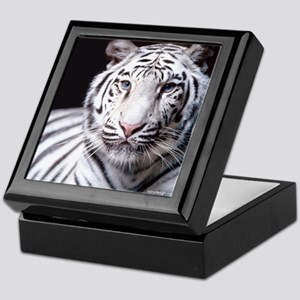 White Bengal Tiger Keepsake Box