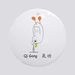 Qi Gong Ornament (Round)