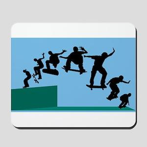 Skateboard Evolution Mousepad