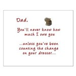 Dad you'll Never Know Small Poster