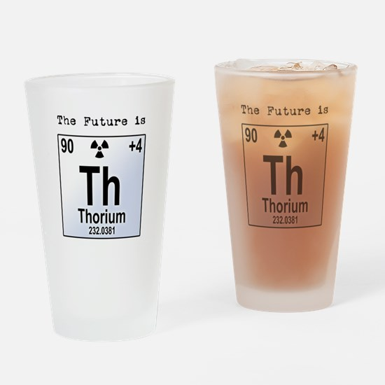 Thorium Element Drinking Glass