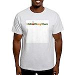 iGrowMyOwn (Logo Only) Light T-Shirt