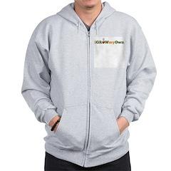 iGrowMyOwn (Logo Only) Zip Hoodie