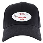 I Grill Therefore I Am... Black Cap