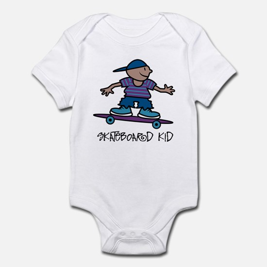 Skateboard Kid Infant Creeper
