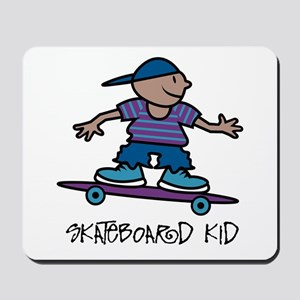 Skateboard Kid Mousepad