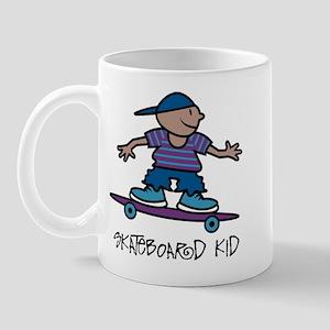 Skateboard Kid Mug