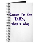 Cause I'm the Dad Journal