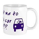 Turn This Car Around Mug