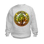 Ganesha2 Kids Sweatshirt