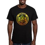 Ganesha2 Men's Fitted T-Shirt (dark)