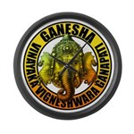 Ganesha2 Large Wall Clock