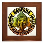 Ganesha2 Framed Tile