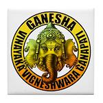 Ganesha2 Tile Coaster