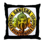 Ganesha2 Throw Pillow