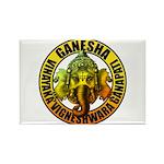 Ganesha2 Rectangle Magnet (100 pack)