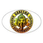 Ganesha2 Sticker (Oval)