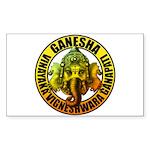 Ganesha2 Sticker (Rectangle 50 pk)