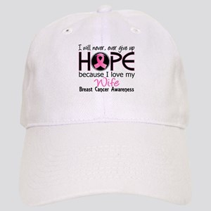 Hope For My 2 Breast Cancer Cap