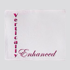 Vertically Enhanced (no pic) Throw Blanket