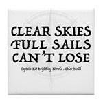 Clear Skies Tile Coaster