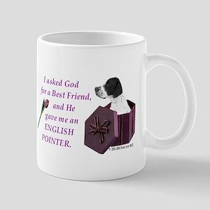 I Asked God -Shirt -EnglishPointer Mugs